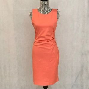 Kenneth Cole melon sheath dress